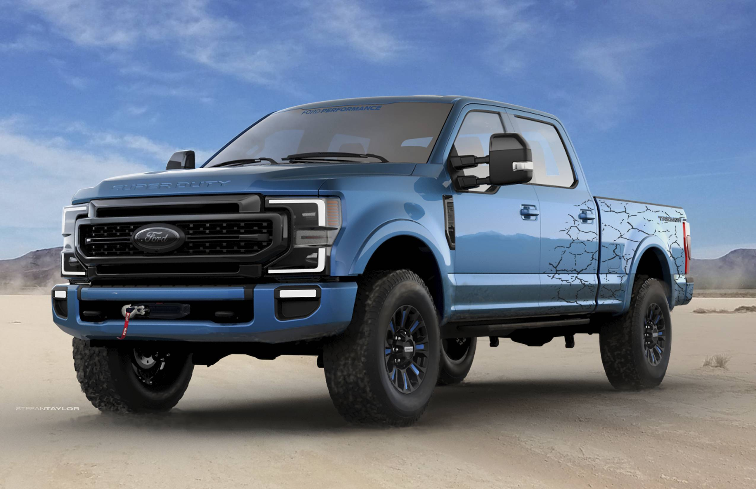 Ford Breaks New Ground With Its F-350 and F-250 Super Duty Tremor Header