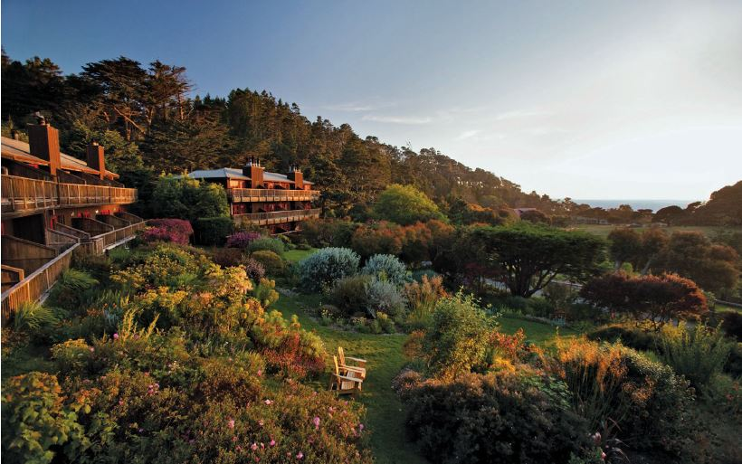 Sunsets feel more peaceful and dreamy during a retreat at Mendocino Center for Living Well. PHOTO COURTESY OF THE PROPERTIES